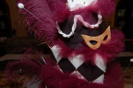 Masquerade Prom Cake